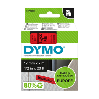 Dymo S0720570 / 45017 12mm tape, black on red (original Dymo) S0720570 088214