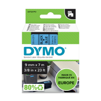 Dymo S0720710 / 40916 9mm tape, black on blue (original Dymo) S0720710 088112