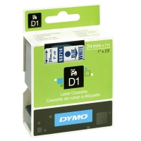 Dymo S0720940 / 53714 24mm tape, blue on white (original) S0720940 088424