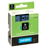 Dymo S0720960 / 53716 24mm tape, black on blue (original) S0720960 088428