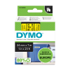 Dymo S0720980 / 53718 24mm tape, black on yellow (original) S0720980 088432