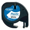 Dymo S0721610 / 91201 12mm white plastic tape (original Dymo) S0721610 088302