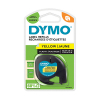 Dymo S0721620 / 91202 12mm yellow plastic tape (original Dymo) S0721620 088304
