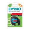 Dymo S0721630 / 91203 12mm red plastic tape (original Dymo) S0721630 088306