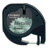 Dymo S0721740 / 91209 12mm metallic green tape (original Dymo) S0721740 088316