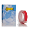 Dymo S0898150 9mm embossing tape, white on red (123ink version) S0898150C 088445