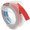 Dymo S0898150 9mm embossing tape, white on red (original) S0898150 088444