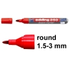Edding 250 red whiteboard marker