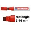Edding 850 red permanent marker
