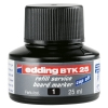 Edding BTK 25 black refill ink (25ml)