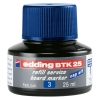 Edding BTK 25 blue refill ink (25ml)