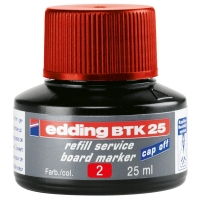 Edding BTK 25 red refill ink (25ml) 4-BTK25002 200562