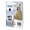 Epson 26XL (T2621) high capacity black ink cartridge (original Epson) C13T26214010 C13T26214012 026508