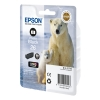 Epson 26XL (T2631) high capacity photo black ink cartridge (original Epson) C13T26314010 C13T26314012 C13T26314022 026510