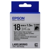 Epson LK 5SBR black on silver reflective tape, 18mm (original)