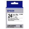 Epson LK 6WBN standard black on white tape, 24mm (original) C53S656006 083268