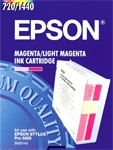 Epson S020143 magenta/light magenta ink cartridge (original Epson) C13S020143 020405