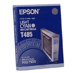 Epson T485 (C13T485011) light cyan ink cartridge (original) C13T485011 025350