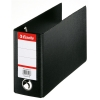 Esselte 4709 black plastic bank giro binder 80mm