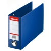 Esselte 4709 blue plastic bank giro binder 80mm