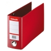 Esselte 4709 red plastic bank giro binder 80mm