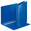 Esselte Essentials Panorama blue binder with 4 D-rings (44mm)
