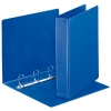 Esselte Essentials Panorama blue binder with 4 D-rings (62mm)