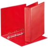 Esselte Essentials Panorama red binder with 4 D-rings (62mm)