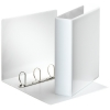 Esselte Essentials Panorama white binder with 4 D-rings (77mm)