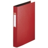 Esselte red plastic ring binder with 23 O-rings 48259 203796