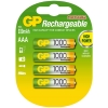 GP 1000 rechargeable AAA LR03 battery 4-pack GP100AAAHC4 215064