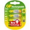 GP 1300 rechargeable AA LR6 battery 4-pack