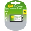 GP 150 ReCyko + rechargeable 9V E-block battery GP15R8HB 215060