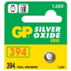 GP 394 silver oxide button cell battery