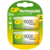 GP 9000 D LR20 rechargeable battery 2-pack