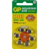 GP PR48 hearing aid battery 6-pack (orange) GPZA13 215134