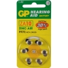 GP PR70 hearing aid battery 6-pack (yellow)