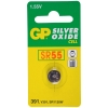 GP SR55 silver oxide button cell battery