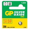 GP SR59 silver oxide button cell battery GP396 215108