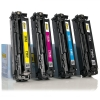 HP 125A (CB540A/1A/2A/3A) toner 4-pack (123ink version)  130030