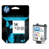 HP 14 (C5010D/DE) colour ink cartridge (original HP) C5010DE 031311