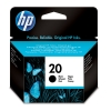 HP 20 (C6614D/DE) black ink cartridge (original HP) C6614DE 030320