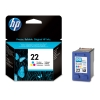 HP 22 (C9352A/AE) colour ink cartridge (original HP) C9352AE 031760