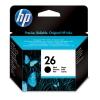 HP 26 (C51626A/AE) black ink cartridge (original HP) 51626AE 030020