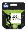 HP 302XL (F6U67AE) high capacity colour ink cartridge (original HP) F6U67AE 044454