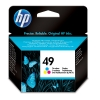 HP 49 (51649A/AE) colour ink cartridge (original HP) 51649AE 030140