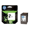 HP 56 (C6656AE) black ink cartridge (original HP) C6656AE 031250