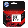 HP 652 (F6V25AE) black ink cartridge (original HP) F6V25AE 044456