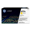 HP 653A (CF322A) yellow toner (original HP) CF322A 054778