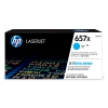 HP 657X (CF471X) high capacity cyan toner (original) CF471X 055176